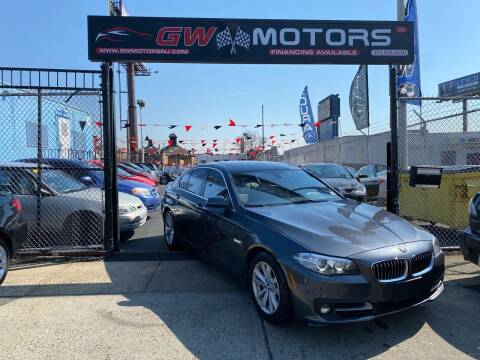 2016 BMW 5 Series for sale at GW MOTORS in Newark NJ