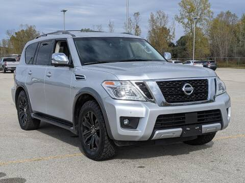 2017 Nissan Armada for sale at Gandrud Dodge in Green Bay WI