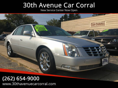 2011 Cadillac DTS for sale at 30th Avenue Car Corral in Kenosha WI