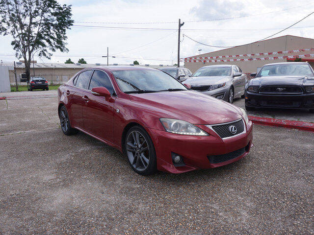 2012 Lexus IS 250 for sale at BLUE RIBBON MOTORS in Baton Rouge LA