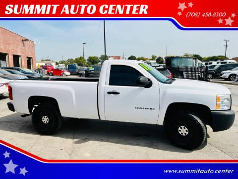 2011 Chevrolet Silverado 1500 for sale at SUMMIT AUTO CENTER in Summit IL