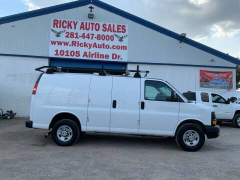 2013 Chevrolet Express Cargo for sale at Ricky Auto Sales in Houston TX
