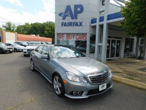 2010 Mercedes-Benz E-Class for sale at AP Fairfax in Fairfax VA