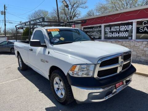 2015 RAM Ram Pickup 1500 for sale at GOL Auto Group in Austin TX