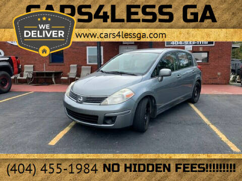 2007 Nissan Versa for sale at Cars4Less GA in Alpharetta GA