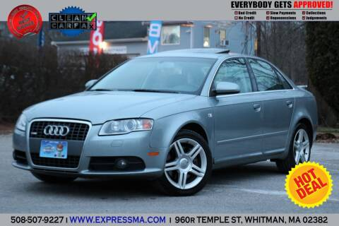 2008 Audi A4 for sale at Auto Sales Express in Whitman MA