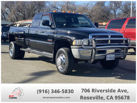 2001 Dodge Ram Pickup 3500 for sale at OT CARS AUTO SALES in Roseville CA