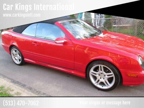 2000 Mercedes-Benz CLK for sale at Car Kings in Cincinnati OH