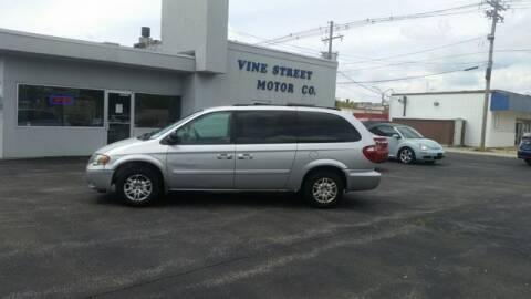 2005 Dodge Grand Caravan for sale at VINE STREET MOTOR CO in Urbana IL