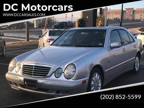 2000 Mercedes-Benz E-Class for sale at DC Motorcars in Springfield VA