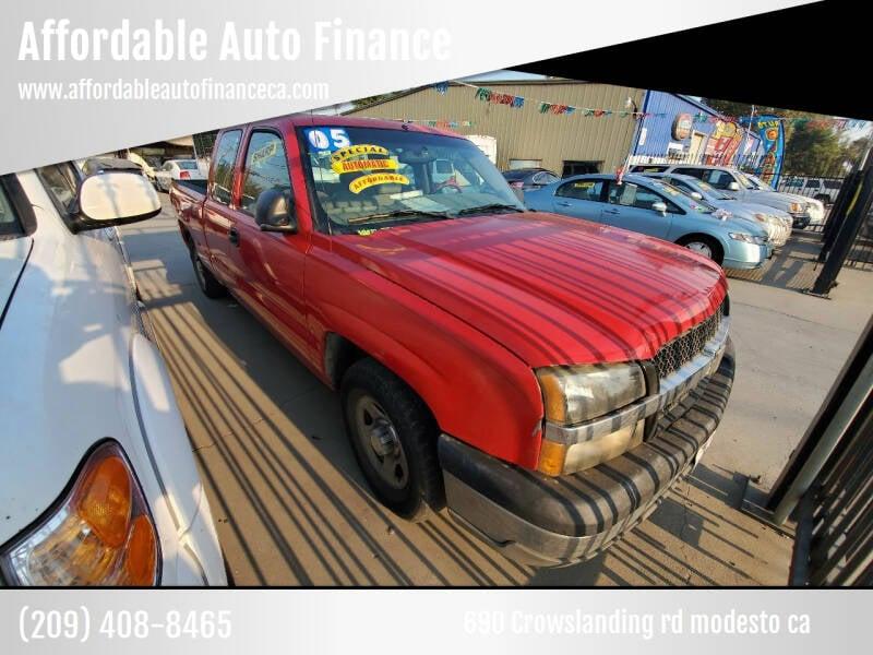 2004 Chevrolet Silverado 1500 for sale at Affordable Auto Finance in Modesto CA
