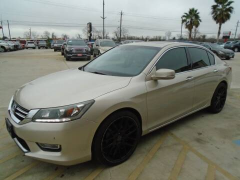 2013 Honda Accord for sale at Premier Foreign Domestic Cars in Houston TX