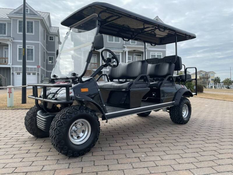 2021 Street Legal 6 seater for sale at 70 East Custom Carts Atlantic Beach - rentals in Atlantic Beach NC