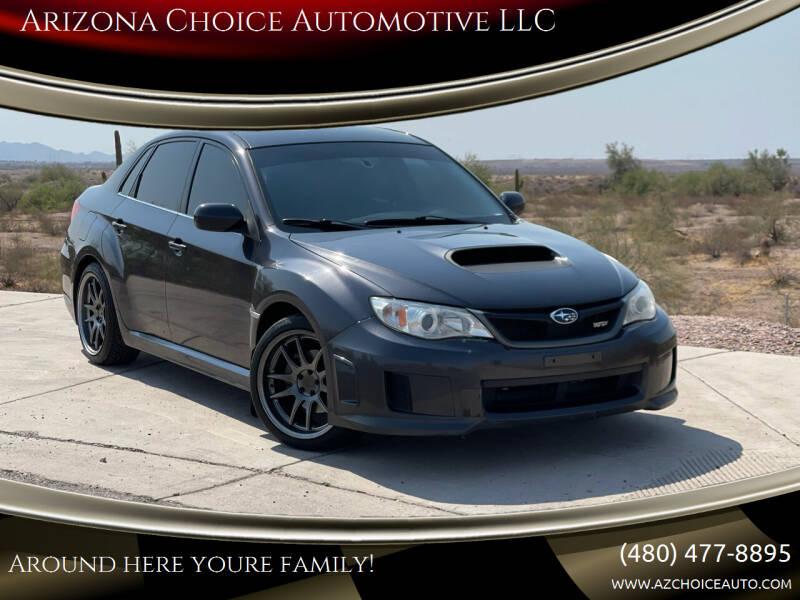 2013 Subaru Impreza for sale at Arizona Choice Automotive LLC in Mesa AZ
