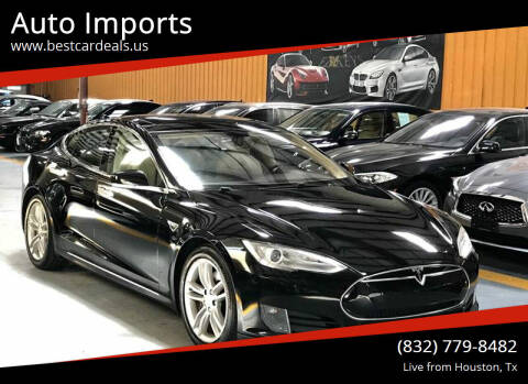 2013 Tesla Model S for sale at Auto Imports in Houston TX