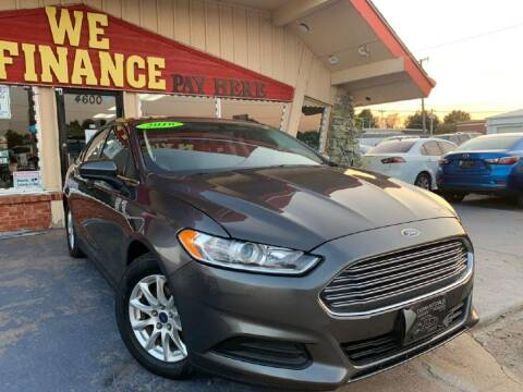 2016 Ford Fusion for sale at Caspian Auto Sales in Oklahoma City OK