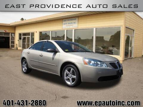 2009 Pontiac G6 for sale at East Providence Auto Sales in East Providence RI