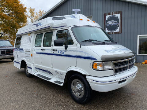 1997 Dodge B350 Liesure Travel Freedom WIde Body 190 for sale at D & L Auto Sales in Wayland MI