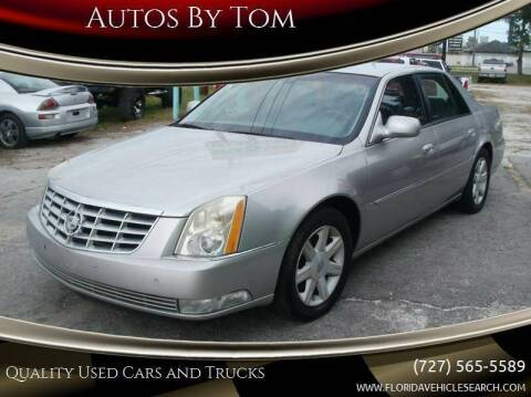 2006 Cadillac DTS for sale at Autos by Tom in Largo FL