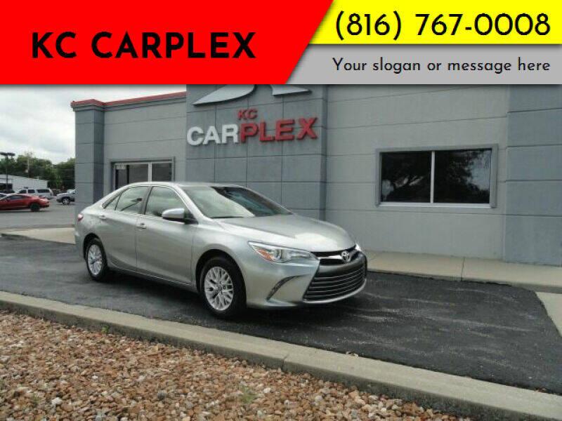 2016 Toyota Camry for sale at KC Carplex in Grandview MO