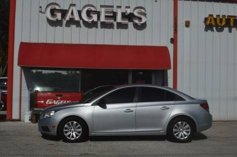 2011 Chevrolet Cruze for sale at Gagel's Auto Sales in Gibsonton FL
