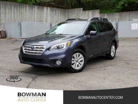 2017 Subaru Outback for sale at Bowman Auto Center in Clarkston MI