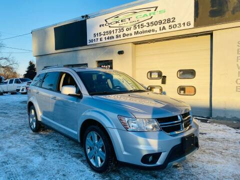2014 Dodge Journey for sale at Rocket Cars Auto Sales LLC in Des Moines IA