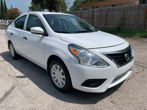 2016 Nissan Versa for sale at AWESOME CARS LLC in Austin TX