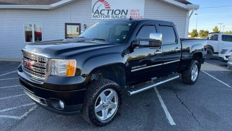 2013 GMC Sierra 2500HD for sale at Action Motor Sales in Gaylord MI