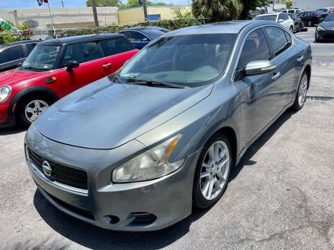 2010 Nissan Maxima for sale at Auto Beast in Fort Lauderdale FL