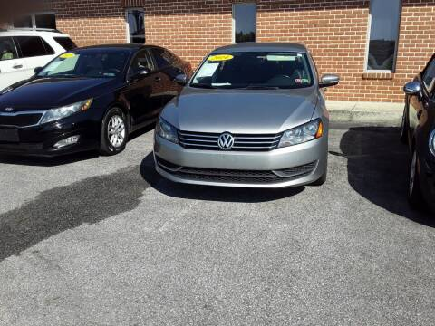 2014 Volkswagen Passat for sale at Dun Rite Car Sales in Downingtown PA