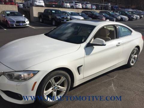2014 BMW 4 Series for sale at J & M Automotive in Naugatuck CT