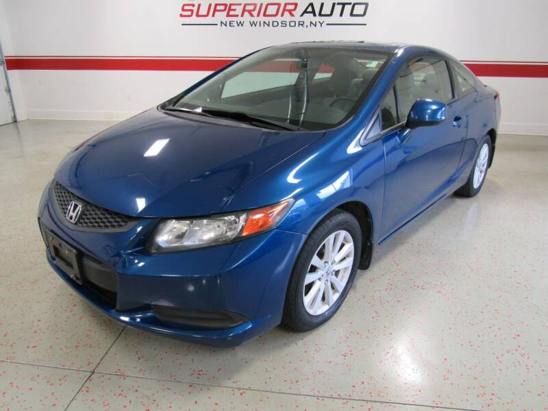 2012 Honda Civic for sale at Superior Auto Sales in New Windsor NY