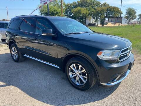 2015 Dodge Durango for sale at Collins Auto Sales in Waco TX