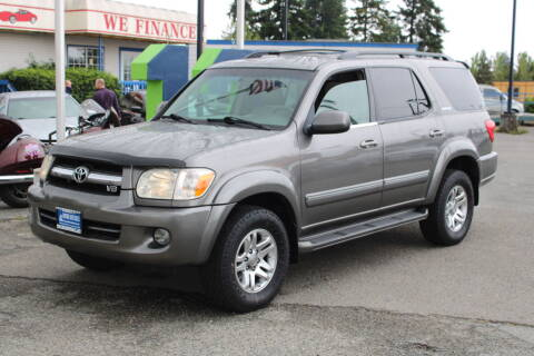 2005 Toyota Sequoia for sale at BAYSIDE AUTO SALES in Everett WA