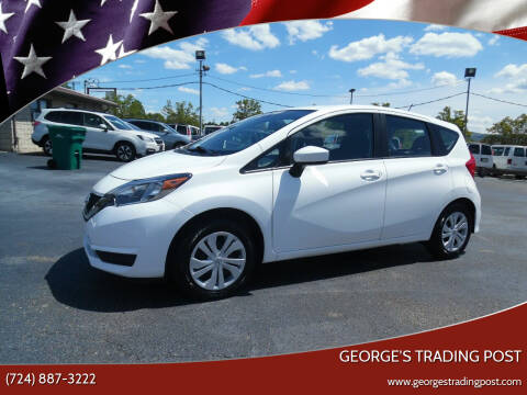 2018 Nissan Versa Note for sale at GEORGE'S TRADING POST in Scottdale PA