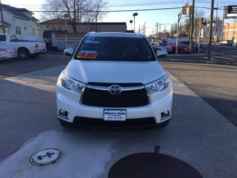 2014 Toyota Highlander for sale at Steves Auto Sales in Little Ferry NJ