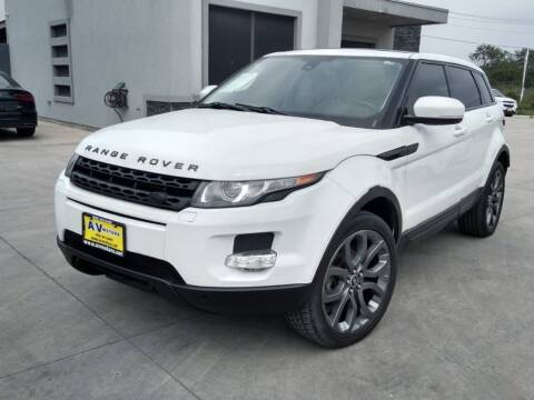 2013 Land Rover Range Rover Evoque for sale at A & V MOTORS in Hidalgo TX
