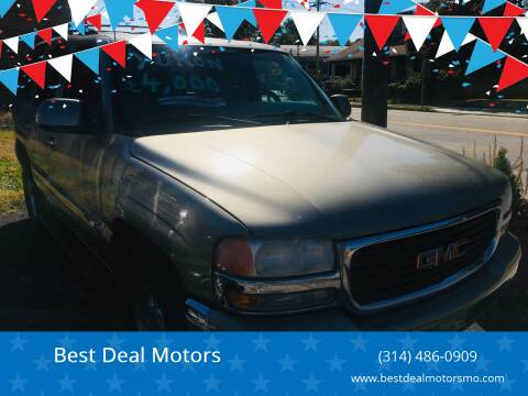 2001 GMC Yukon for sale at Best Deal Motors in Saint Charles MO