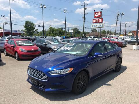 2014 Ford Fusion for sale at 4th Street Auto in Louisville KY