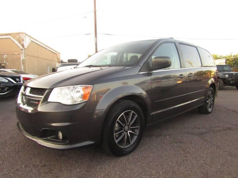 2017 Dodge Grand Caravan for sale at Van Buren Motors in Phoenix AZ