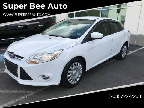 2012 Ford Focus for sale at Super Bee Auto in Chantilly VA