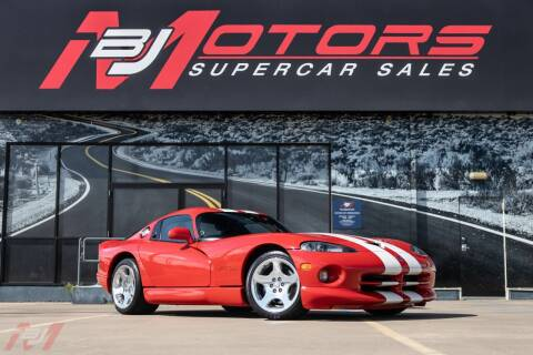 2002 Dodge Viper for sale at BJ Motors in Tomball TX