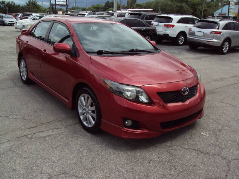 2010 Toyota Corolla for sale at Mars auto trade llc in Kissimmee FL
