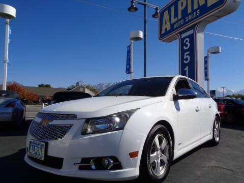 2011 Chevrolet Cruze for sale at Alpine Auto Sales in Salt Lake City UT