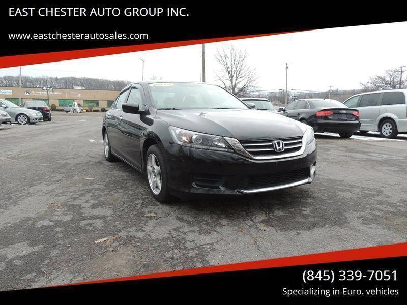 2013 Honda Accord for sale at EAST CHESTER AUTO GROUP INC. in Kingston NY