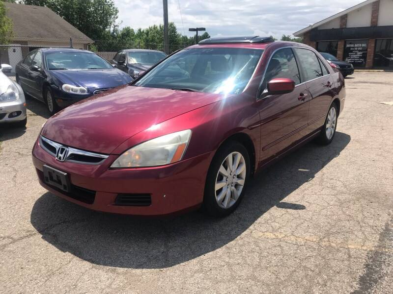 2006 Honda Accord for sale at Royal Auto Inc. in Columbus OH