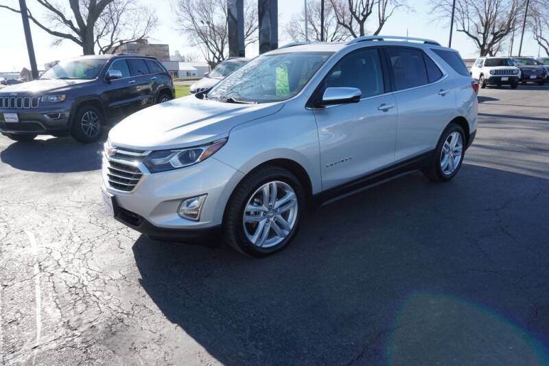 2018 Chevrolet Equinox for sale at Ideal Wheels in Sioux City IA