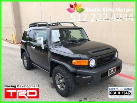 2007 Toyota FJ Cruiser for sale at Austin Elite Motors in Austin TX