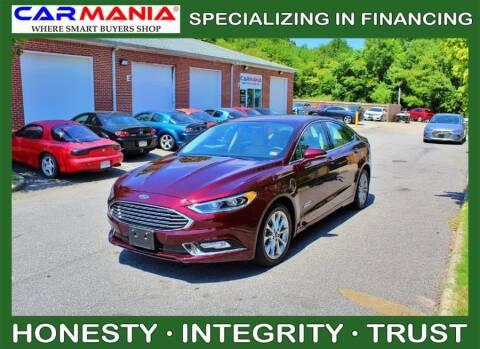 2017 Ford Fusion Energi for sale at CARMANIA LLC in Chesapeake VA